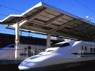 上海虹桥火车站照片